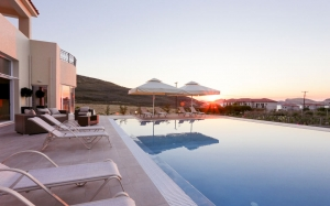 Ammos suites greek island luxury hotel greece